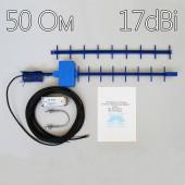 Комплект №4 для USB 3G модема 17 dBi